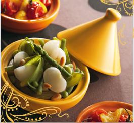 Tajine ze zelené zeleniny chutná celé rodině!