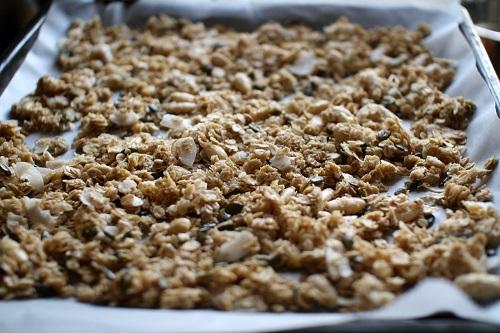Domácí müsli bez přidaného cukru. Chutné a zdravé