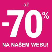 Výprodej slevy až -70%