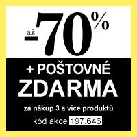 Happy Shopping - slevy až 70 % + poštovné zdarma