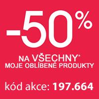 Sleva 50 % na 2. a další produkty