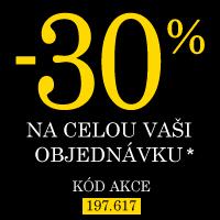 Sleva 30% na celou Vaši objednávku*