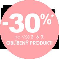 Sleva 30% na 2. a 3. produkt v košíku