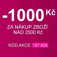 Ušetřete až 1000 Kč ve Vaší objednávce