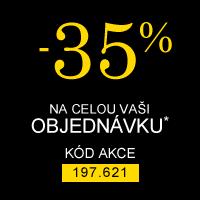 Celá Vaše objednávka -35%