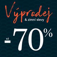 Výprodej a zimní slevy až 70 %