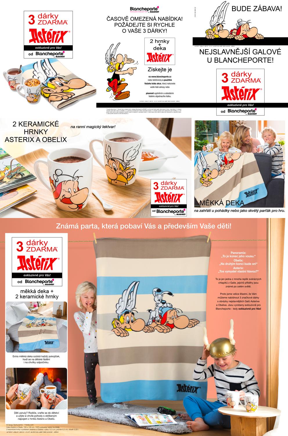 Dárek za objednávku - Asterix